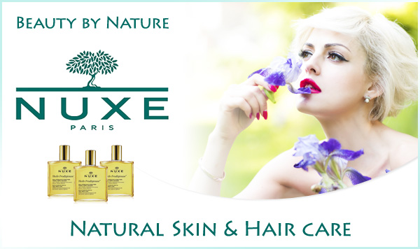Beauty by Nature Natural Skin & Hair care NUXE