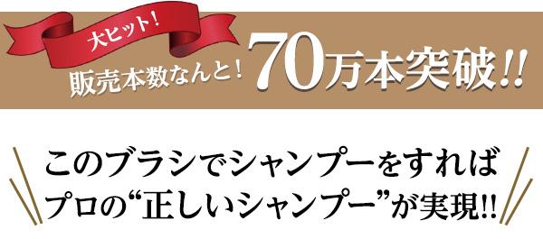 大ヒット!販売本数なんと!70万本突破!!