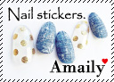 Amaily アメイリー Nail stickers.